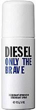 Düfte, Parfümerie und Kosmetik Diesel Only The Brave - Deospray
