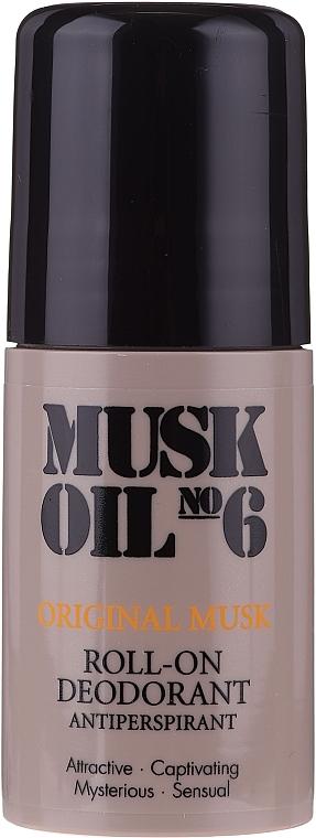 Deo Roll-on Antitranspirant - Gosh Musk Oil No.6 Roll-On Deodorant — Bild N1