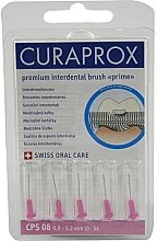 Düfte, Parfümerie und Kosmetik Interdentalzahnbürsten Prime CPS 08 3,2 mm rosa 5 St. - Curaprox Prime