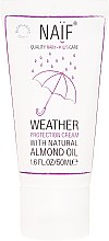 Düfte, Parfümerie und Kosmetik Schützende Gesichts- und Körpercreme für Kinder und Babys mit natürlichem Mandelöl - Naif Weather Protection Cream