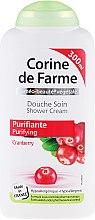 Düfte, Parfümerie und Kosmetik Duschcreme mit Preiselbeere - Corine De Farme Shower Cream