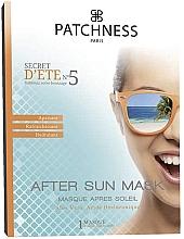 Düfte, Parfümerie und Kosmetik Feuchtigkeitsspendende und beruhigende After Sun Tuchmaske mit Aloe Vera und Hyaluronsäure - Patchness Mask After Sun