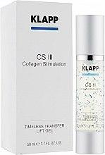 Düfte, Parfümerie und Kosmetik Liftinggel für das Gesicht mit Kollagen - Klapp Collagen CSIII Concentrate Transfer Lift