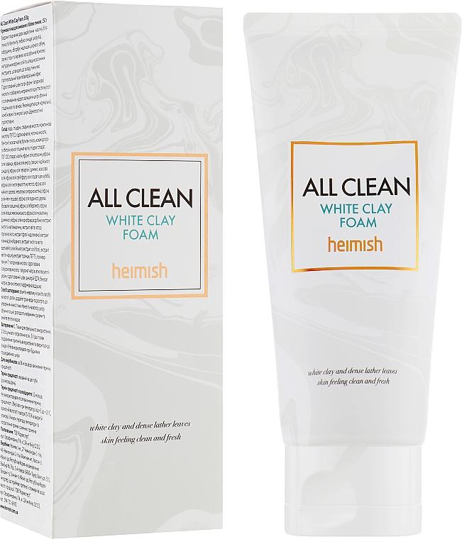 Reinigungsschaum für das Gesicht mit weißer Tonerde - Heimish All Clean White Clay Foam