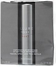 Chanel Allure Homme Sport Eau Extreme - Duftset (Eau de Toilette 20ml + Refills 2x20ml) — Bild N2