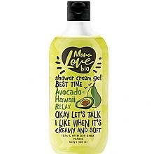 Düfte, Parfümerie und Kosmetik Entspannendes Creme-Duschgel mit Avocadoöl - MonoLove Bio Avocado-Hawai Relax