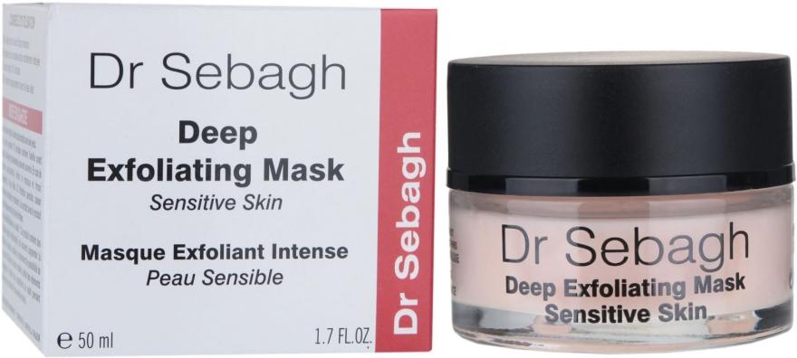 Tiefenpeeling Maske für empfindliche Haut - Dr Sebagh Deep Exfoliating Mask — Bild N1