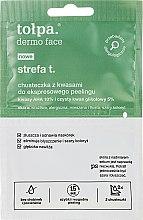 Düfte, Parfümerie und Kosmetik Gesichtsreinigungstuch - Tolpa Strefa T Peeling Wipe