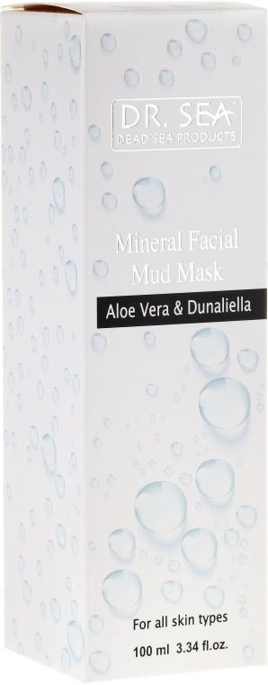 Schlammmaske für das Gesicht mit Aloe Vera und Dunaliella salina - Dr. Sea Mineral Mud Mask — Bild N2