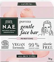 Düfte, Parfümerie und Kosmetik Gesichtsseife mit Rosenwasser - N.A.E. Purezza Gentle Face Bar