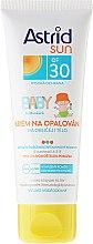 Düfte, Parfümerie und Kosmetik Sonnenschutzcreme für Kinder SPF 30 - Astrid Sun Baby Cream SPF 30