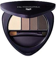 Düfte, Parfümerie und Kosmetik Lidschatten- und Augenbrauenpalette - Dr Hauschka Eye & Brow Palette