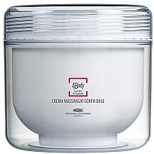 Düfte, Parfümerie und Kosmetik Körpermassagecreme mit Guarana-Extrakt - Fontana Contarini 4Body Base Massage Cream