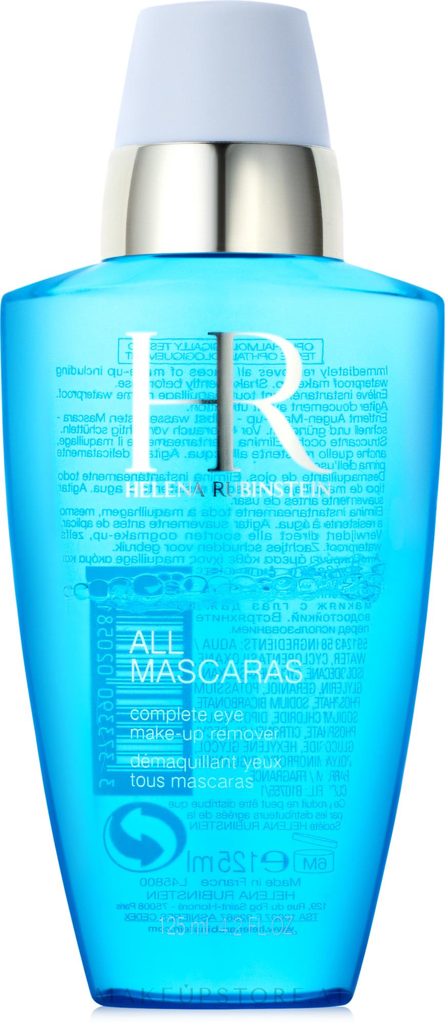 Augen-Make-up Entferner - Helena Rubinstein All Mascaras! — Bild 125 ml