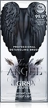 Entwirrbürste schwarz 18,7x9 cm - Tangle Angel Brush Black — Bild N3