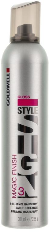 Haarspray für starken Halt und Glanz - Goldwell Magic Finish Brilliance Hairspray — Bild N1