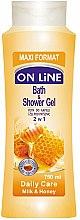 Düfte, Parfümerie und Kosmetik Duschgel Milch & Honig - On Line Daily Care Bath & Shower Gel