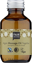 Düfte, Parfümerie und Kosmetik Massageöl mit Argan - Fair Squared Argan Massage Oil Together