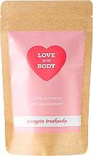 Düfte, Parfümerie und Kosmetik Kaffee-Peeling für den Körper Saftige Erdbeere - Love Your Body Peeling