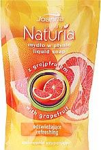 Düfte, Parfümerie und Kosmetik Flüssige Handseife mit Grapefruit - Joanna Naturia Body Grapefruit Liquid Soap (Nachfüller)
