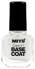 Düfte, Parfümerie und Kosmetik Nagelunterlack - Miyo Care It Base Coat