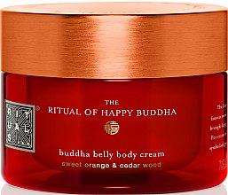 Düfte, Parfümerie und Kosmetik Reichhaltige Körpercreme mit Süßorange und Zedernholz - Rituals The Ritual of Happy Buddha Body Cream