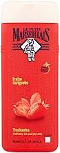 Düfte, Parfümerie und Kosmetik Feuchtigkeitsspendendes und erfrischendes Duschgel Erdbeere - Le Petit Marseillais