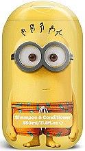 Düfte, Parfümerie und Kosmetik Haar Shampoo&Conditioner für Kinder 2in1 - Corsair Despicable Me Minions Paradise 2in1 Shampoo&Conditioner