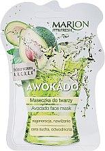 Düfte, Parfümerie und Kosmetik Feuchtigkeitsspendende und regenerierende Gesichtsmaske mit Avocado - Marion Fit & Fresh Avocado Face Mask