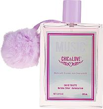 Düfte, Parfümerie und Kosmetik Chic&Love Music - Eau de Toilette