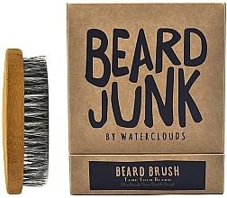 Düfte, Parfümerie und Kosmetik Bartbürste - Waterclouds Beard Junk Beard Boar Bristle Brush