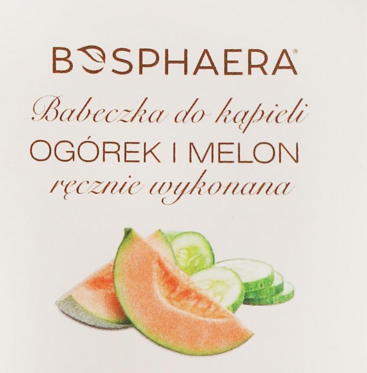 Badebombe mit Gurke und Melone - Bosphaera