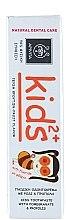 Kinderzahnpasta 2+ Jahre mit Granatapfel und Propolis - Apivita Healthcare Natural Dental Care Kids 2+ Kids Toothpaste With Pomegranate & Propolis — Bild N3