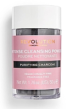 Düfte, Parfümerie und Kosmetik Gesichtsreinigungspuder mit Aktivkohle - Revolution Skincare Purifying Charcoal Cleansing Powder