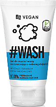 Düfte, Parfümerie und Kosmetik Selbstregulierendes Gesichtswaschgel mit Mandelsäure und Bambusextrakt - AA Cosmetics Vegan Wash Gel