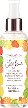Düfte, Parfümerie und Kosmetik Pflegendes Gesichtsspray mit Goji-Beeren- und Zitrusfruchtextrakt - Makeup Revolution Jake Jamie Fruity AF Essence Spray