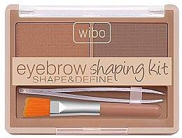 Düfte, Parfümerie und Kosmetik Augenbrauen-Set - Wibo Eyebrow Shaping Kit