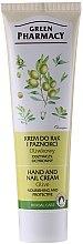 Düfte, Parfümerie und Kosmetik Nährende und schützende Hand- und Nagelcreme mit Olive - Green Pharmacy