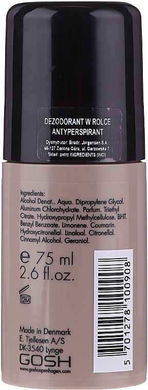 Deo Roll-on Antitranspirant - Gosh Musk Oil No.6 Roll-On Deodorant — Bild N2