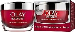 Düfte, Parfümerie und Kosmetik Intensiv feuchtigkeitsspendende und straffende Anti-Aging Gesichtscreme - Olay Regenerist 3 Point Intensive Anti-Aging Cream