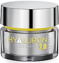 Düfte, Parfümerie und Kosmetik Feuchtigkeitsspendende Anti-Aging Gesichtscreme mit Hyaluronsäure - Alcina Hyaluron 2.0 Face Cream