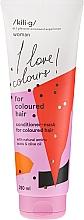 Düfte, Parfümerie und Kosmetik Haarspülung-Maske mit natürlichen Aminosäuren und Olivenöl für gefärbtes Haar - Kili·g Woman Conditioner For Coloured Hair
