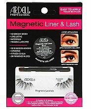 Düfte, Parfümerie und Kosmetik Make-up Set (Eyeliner 2g + Künstliche Wimpern 2St.) - Magnetic Lash & Liner 002 Lash Kit