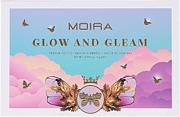 Düfte, Parfümerie und Kosmetik Lidschattenpalette - Moira Glow And Gleam Shadow Palette