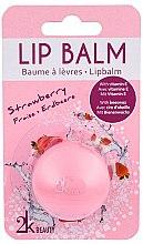 Düfte, Parfümerie und Kosmetik Lippenbalsam mit Erdbeerduft - Cosmetic 2K Lip Balm