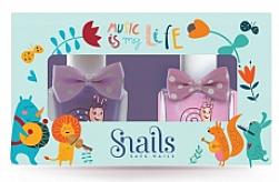 Düfte, Parfümerie und Kosmetik Nagelpflegeset für Kinder - Snails Mini Bebe Music Is My Life (Nagellack 2x10,5ml)