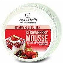 Düfte, Parfümerie und Kosmetik Aufweichende und glättende Hand- und Fußbutter mit Erdbeerduft - Stani Chef's Hand And Foot Butter Strawberry Mousse