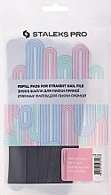 Düfte, Parfümerie und Kosmetik Ersatzfeilenblätter DFE-22-180 gerade - Staleks Pro (50 St.)