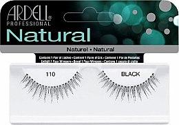 Düfte, Parfümerie und Kosmetik Künstliche Wimpern - Ardell Natural Eye Lashes Black 110