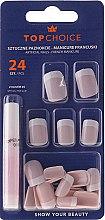 Düfte, Parfümerie und Kosmetik Künstliche Nägel French 74080 - Top Choice